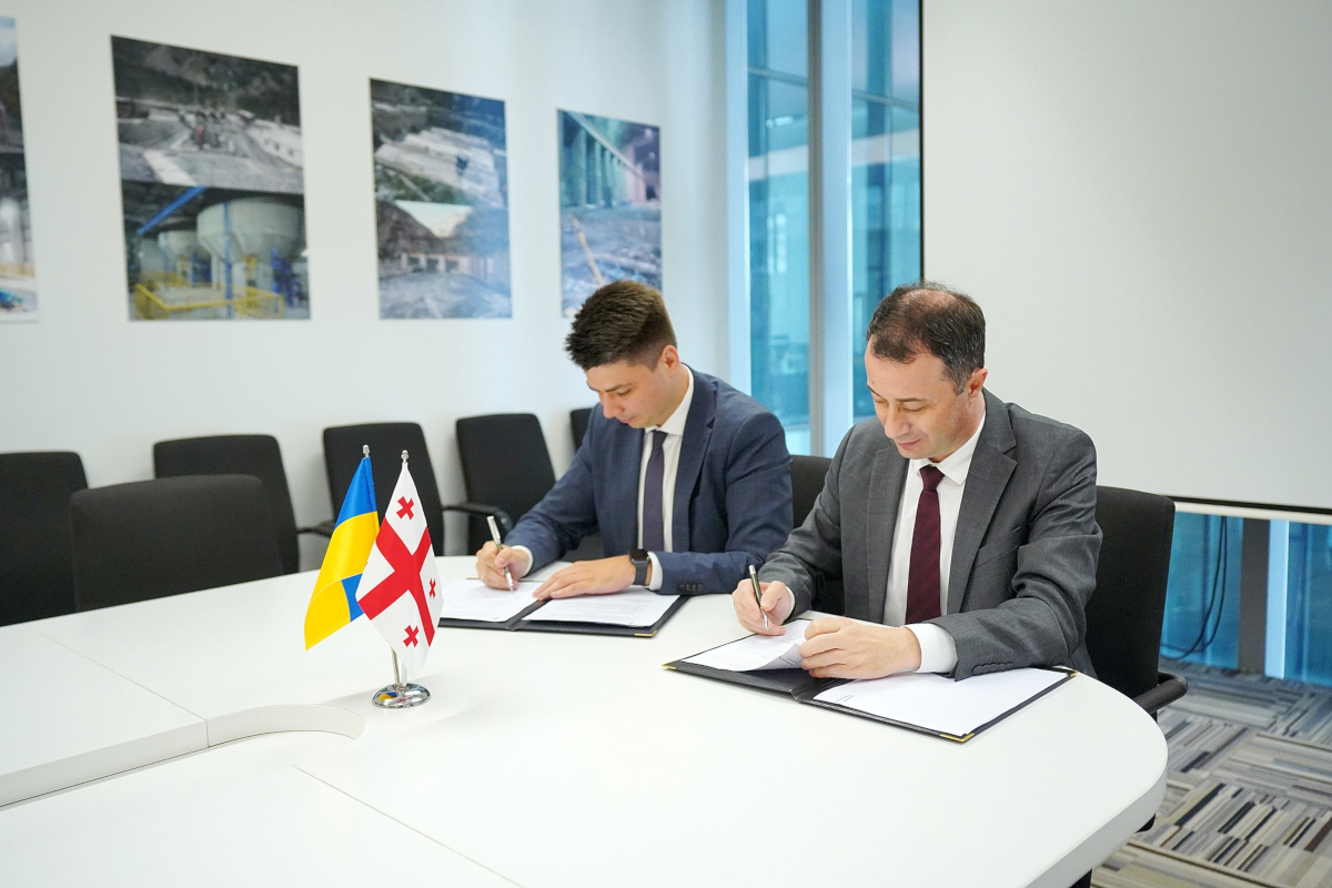 Україна та Грузія започаткували співпрацю у сфері енергоефективності та «зеленій» енергетиці